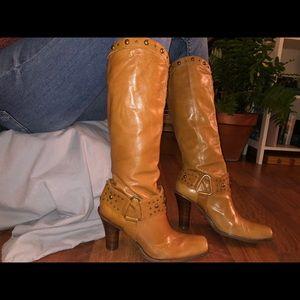 Antonio Melani Buffalo Nickel Harness Boot